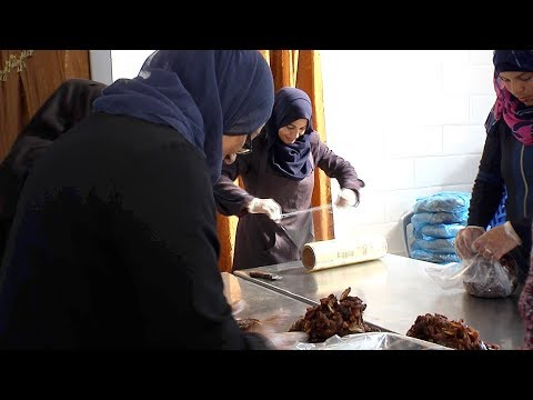 Voices from Gaza: Women at work,  the Balah Falestin plant