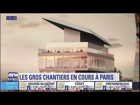 Quels sont les gros chantiers en cours à Paris