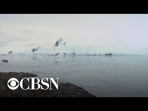 Antarctic's ice sheet is melting 6 times faster than in 1979