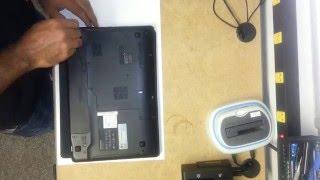 Lenovo IdeaPad Z570 Hard Drive and Memory Removal