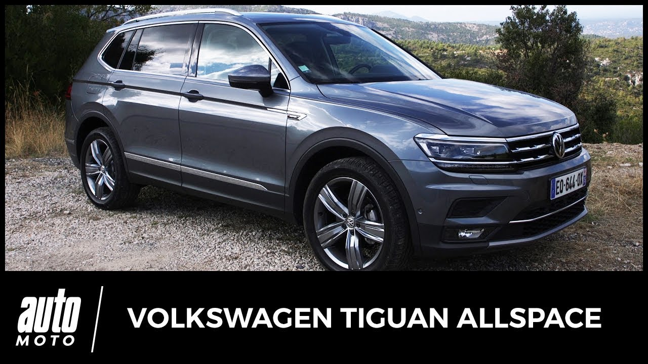 2018 volkswagen tiguan allspace essai un suv aux. Black Bedroom Furniture Sets. Home Design Ideas