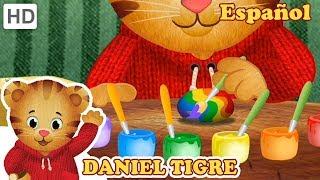 Daniel Tigre en Español 🌧️🌈🌻 Arcoiris y Flores en Primavera! | Videos para Niños