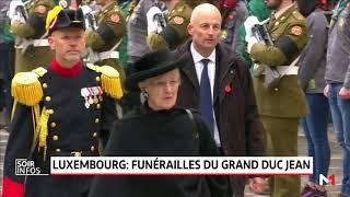 Luxembourg: funérailles du Grand Duc Jean
