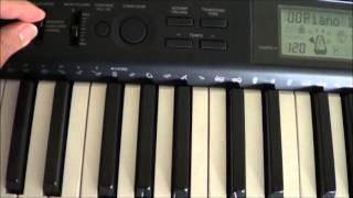 Casio CTK-1100 Electronic Keyboard Review and Demo