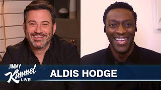 Aldis Hodge on Surprise Call from Dwayne The Rock Johnson & Playing Jim Brown