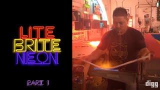 Digg Visits Lite Brite Neon (Part 1)