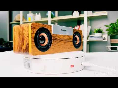 Smalody SL-50S TWS Wooden Speaker