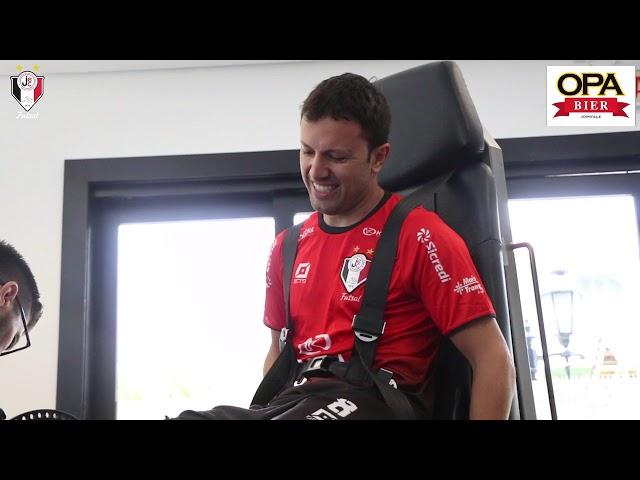 JEC Futsal - Bastidores dos testes Cardiológicos e isocinético