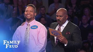 Duane MUST get 21 points on his FINAL ANSWER for $20,000! | Family Feud
