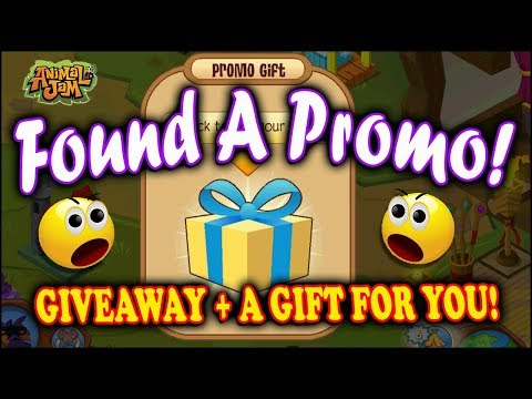 Found Old Promo Code (Giveaway) 🎁 Gift For You on Animal Jam!