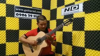 Giới thiệu Guitar ND Classic cao cấp - 5.000.000d