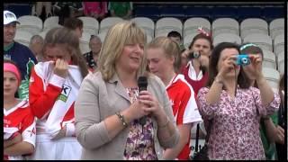 All Ireland U/14 Ladies C Football Final 2014