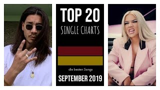 TOP 20 SINGLE CHARTS ♫ best of SEPTEMBER 2019 [D]