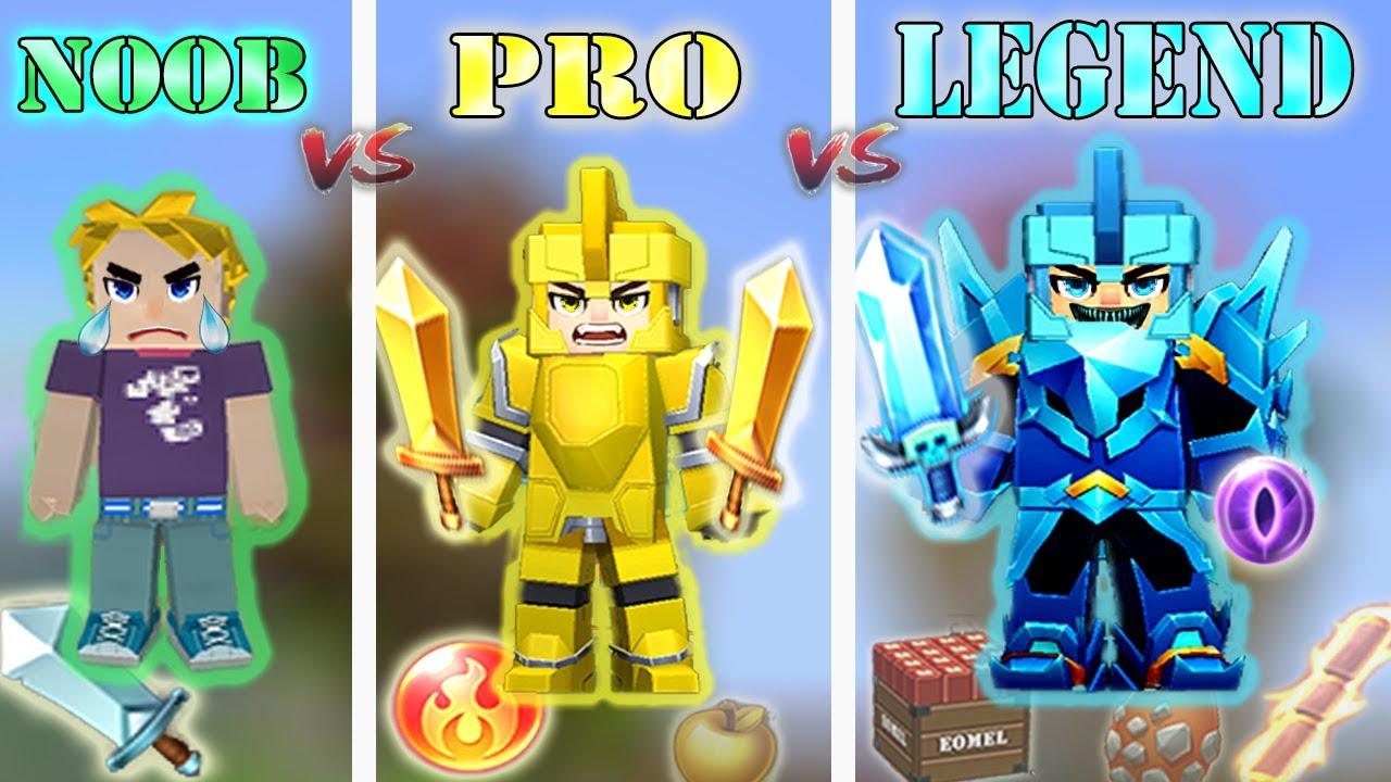 NOOB vs PRO vs LEGEND - NEW Bed Wars 2020   Blockman Go Gameplay (Android , iOS)