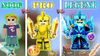 NOOB vs PRO vs LEGEND - NEW Bed Wars 2020 | Blockman Go Gameplay (Android , iOS)