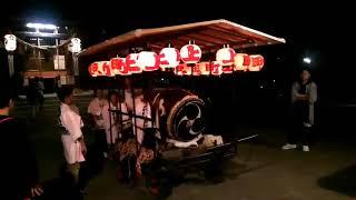 飯坂八幡神社例大祭 稽古屋台町廻り 2017→2018