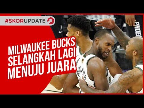 Milwaukee Bucks Selangkah Lagi Menuju Juara NBA 2021