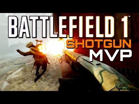 Battlefield 1: SHOTGUN MVP - 71 Kills (PS4 Pro Multiplayer Gameplay)