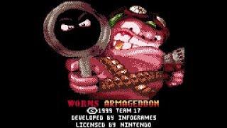 Worms Armageddon (GBC) full playthrough
