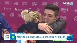 Bronce y pedido de casamiento de Federico Molinari