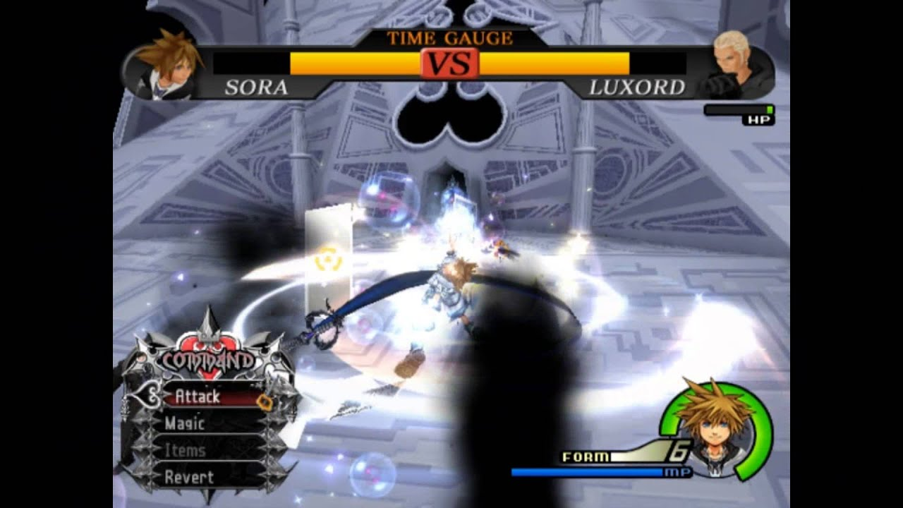 Kingdom Hearts 2 Final Mix Final Form Sora vs Luxord - YouTube