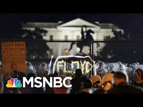 After Trump's Military Threats, Protests Grow Larger In Washington, DC | The 11th Hour | MSNBC