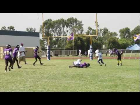 Crenshaw Colts vs Compton Vikings Clinic Team 9-10-11