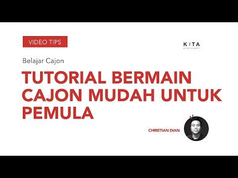 Lesson Cajon - Tutroial Bermain Cajon Mudah - Christian Dian