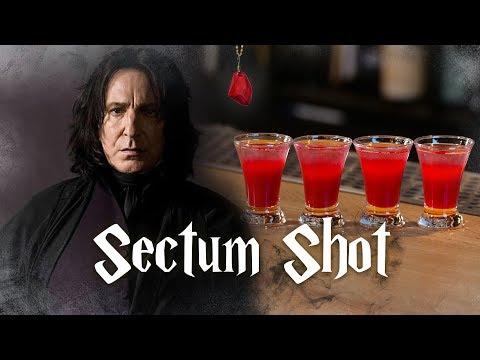 Коктейль SectumShot / Гарри Поттер. [Let's Drink Show]