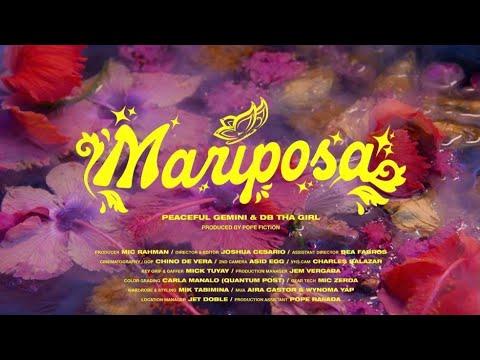 Download Mariposa (Official Music Video) - Peaceful Gemini, DB Tha Girl
