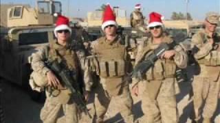 Camouflage & Christmas Lights