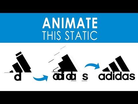 ADIDAS LOGO [Animate this static!]