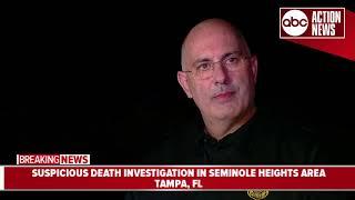 Tampa Police Department investigating suspicious death in Seminole Heights area