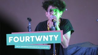 "[HD] Fourtwnty - Sementara ""Float Cover""  (Live at Universitas Muhammadiyah Yogyakarta, Mei 2017)"