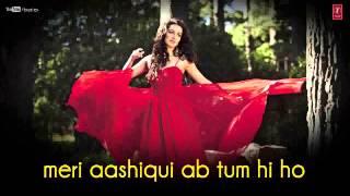 Tum hi ho Aashiqui 2 karaoke sung by Mohammed Masihudddin