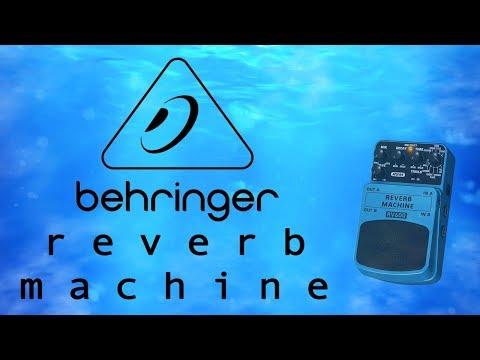 Behringer RV600 Reverb Machine Demo