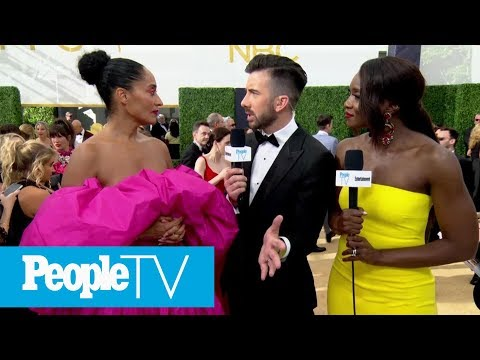 Tracee Ellis Ross Talks Awarding Diversity In Hollywood | Emmys 2018 | PeopleTV
