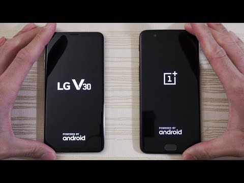Download Youtube: LG V30 vs OnePlus 5 - Speed Test! Who wins?! (4K)