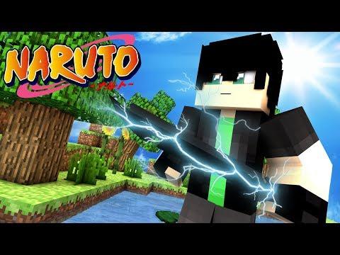 Minecraft: Naruto Legends   NEW LIGHTNING BLADE! EP 6 (Minecraft Roleplay RPG)