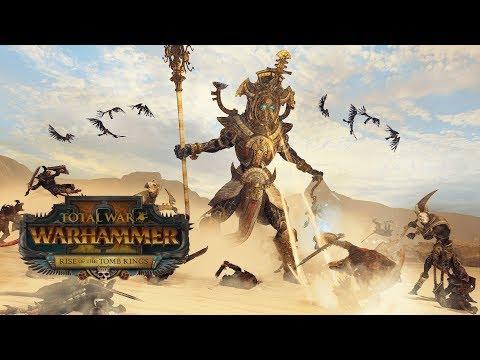 Total War: Warhammer 2 #01 - Долгожданные Цари Гробниц. Прохождение. (Изгнанники Нехека)