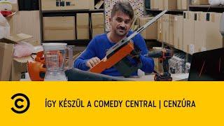 Így készül a Comedy Central   Cenzúra