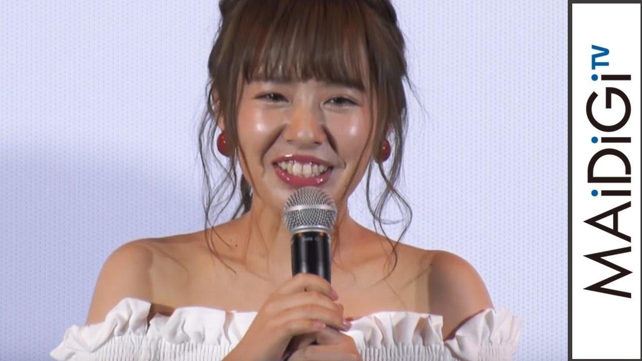元NMB48山田菜々、主演映画に「今日までドッキリだと」初日迎え笑顔 ...