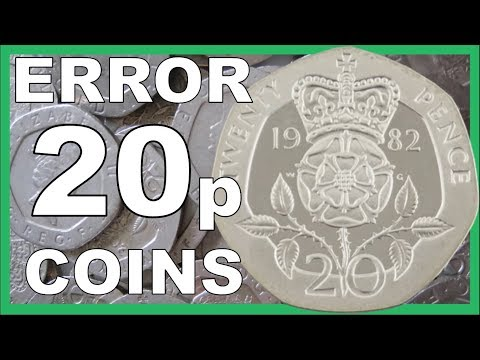 20p ERROR COINS TO LOOK FOR IN CIRCULATION WORTH ££££'s || 2018 VIDEO