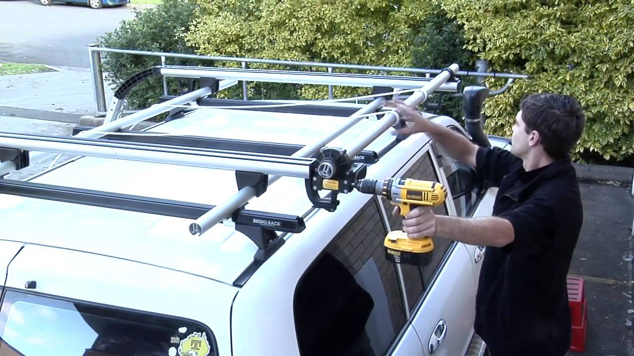 Beautiful Rhino Rack | Side Boat Loader Installation Part 8   Ropes Installation    YouTube