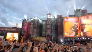 Tomorrowland 2012 David Guetta Intro with Titanium (Alesso Remix) Full HD
