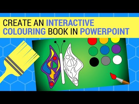 - Create An Interactive Colouring Book In PowerPoint - YouTube