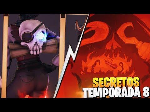 NUEVOS SECRETOS de la TEMPORADA 8 | FORTNITE: Battle Royale