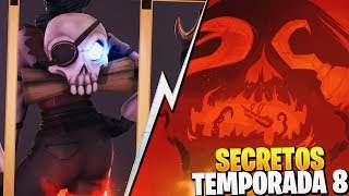 NEW SECRETS OF THE SEASON 8 FORTNITE: Battle Royale
