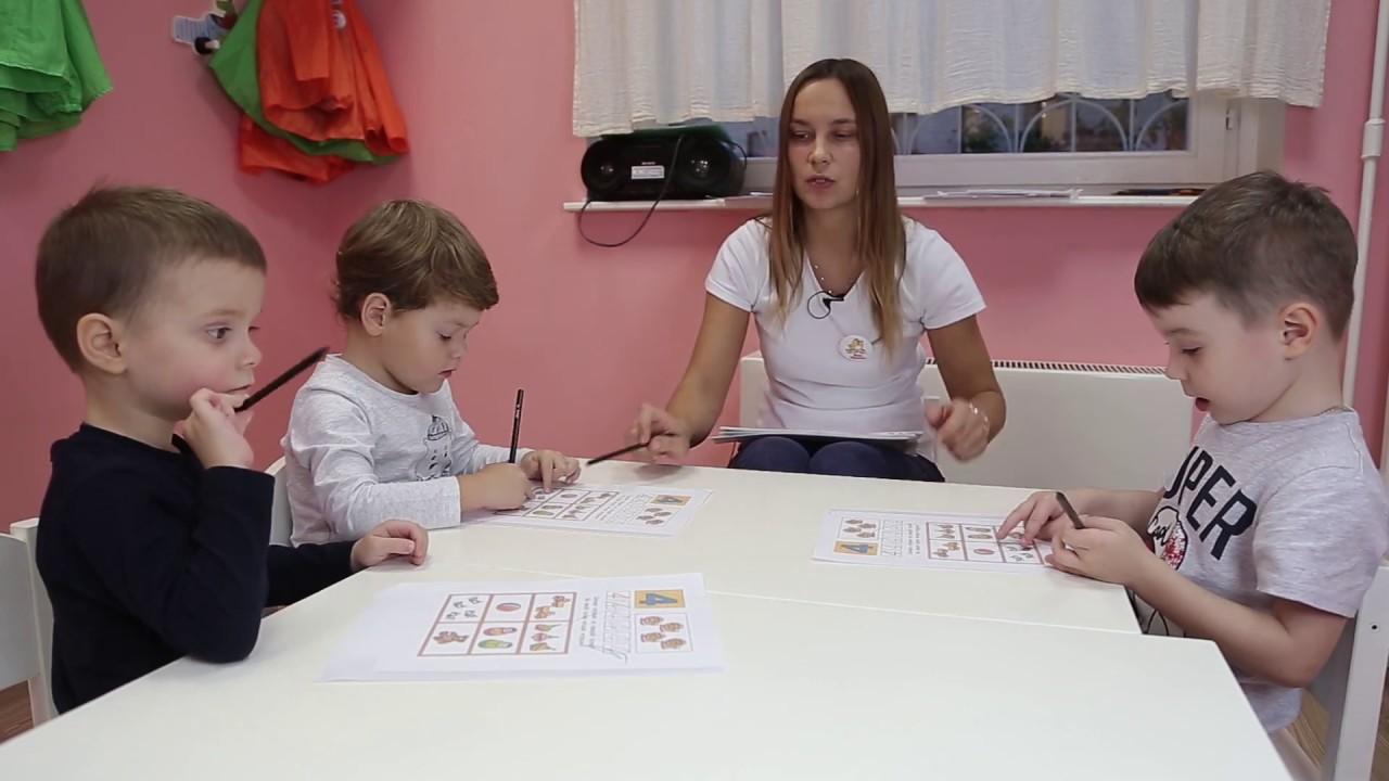 Занятие для детей 3-4 лет №5 | Онлайн детский клуб «Лас ...
