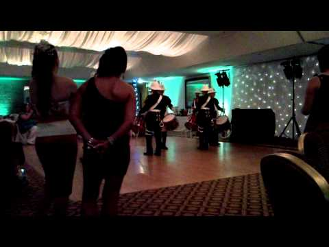 Royal Marines Drum Corps @ Wedding Party 1